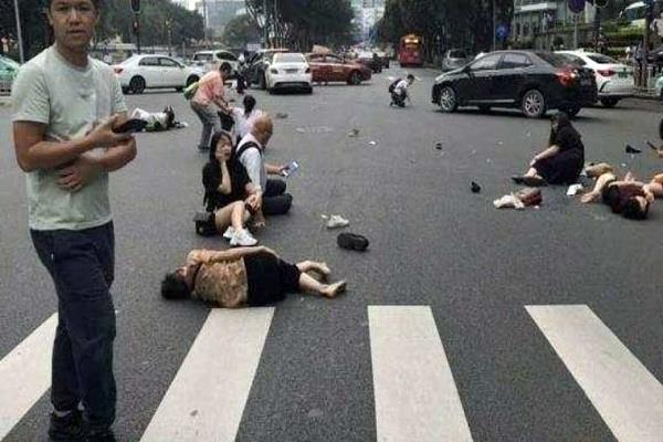 china  car accident