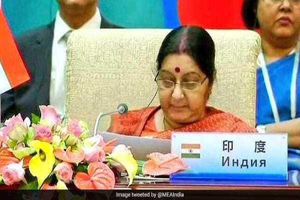 kyrgystan  sushma swaraj