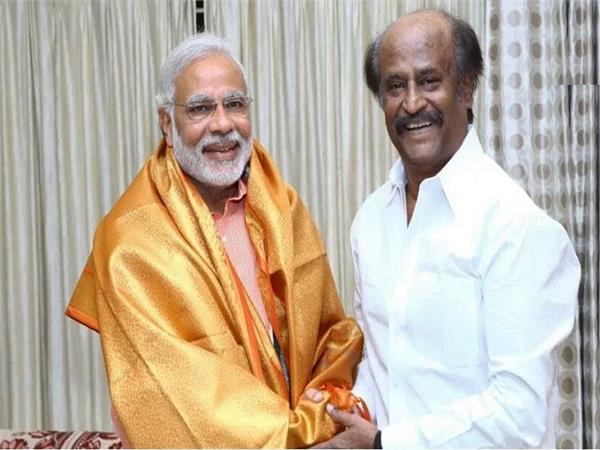 lok sabha election 2019 rajinikanth pm modi