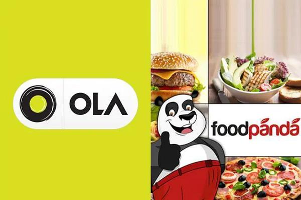 ola will be formed on the new footprint of the foodpanda business