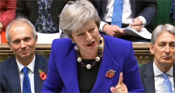 theresa may dangles the carrot of a second referendum to confirm her brexit deal