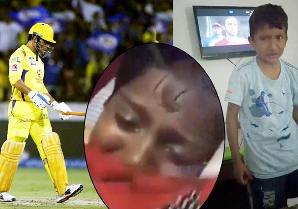 after the loss of dhoni  the little furry cramped badly  video