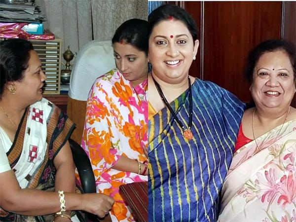 smriti irani takes on the weight issue