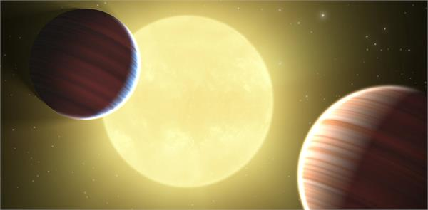 a search of two such planets where life is expected
