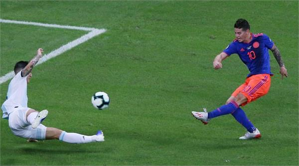 copa america  colombia defeats argentina