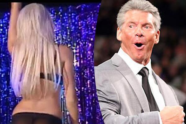female wrestler kelly said   vince taught her   strip dance