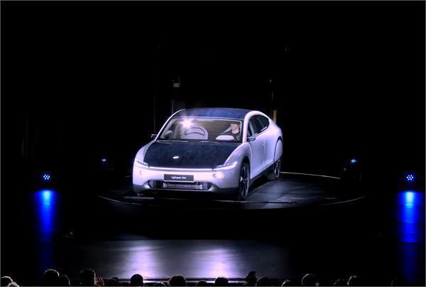the lightyear one is a solar powered car