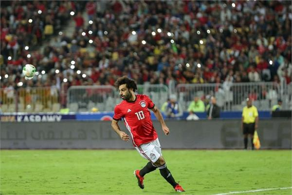 in the last 16 of egypt cup of nations by salah  s goal