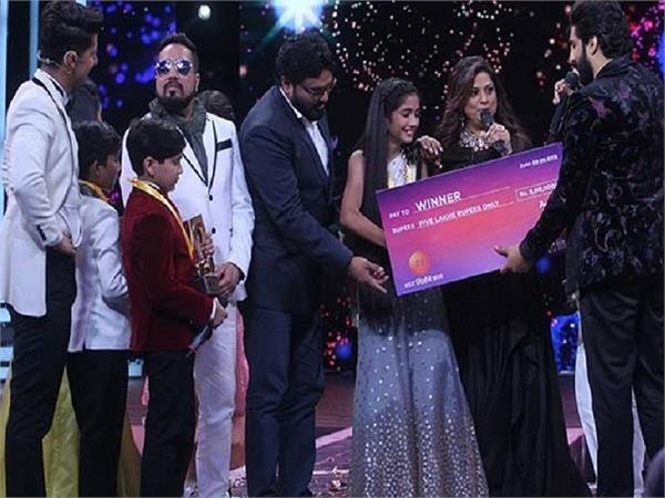 sugandha date wins zee tv reality show
