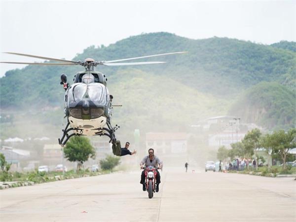 akshay kumar sooryavanshi stunt video