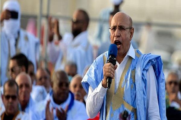 mauritania wins presidential election