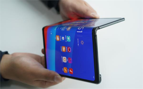 oppo patent for foldable phone