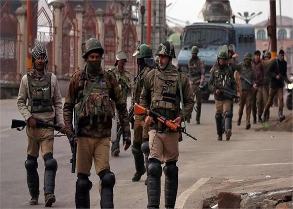 jammu and kashmir in attack alert