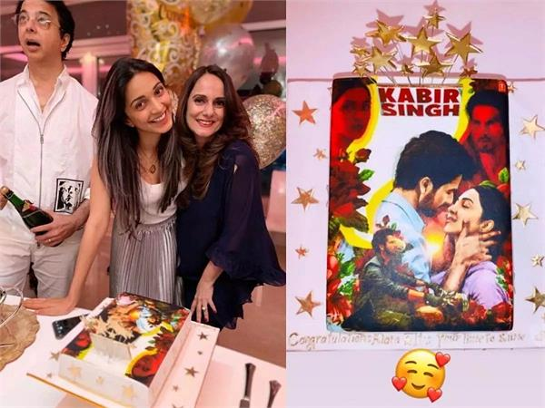 kiara advani celebrates the success of kabir singh