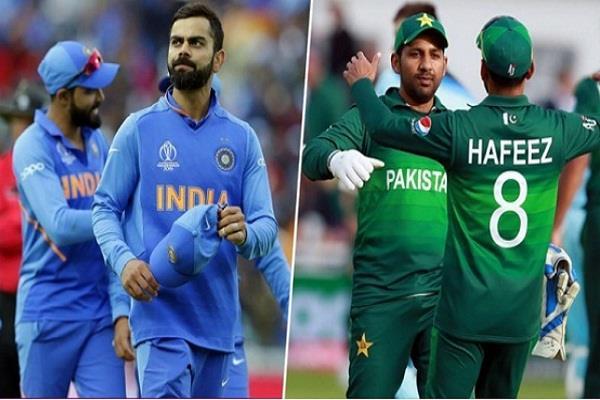 india pakistan world cup 2019