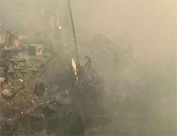 amritsar slum dwellers fire