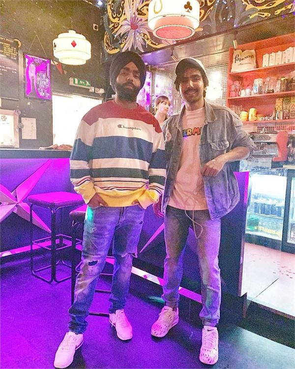 ammy virk and harrdy sandhu celebrate 36 years of 1983 world cup win