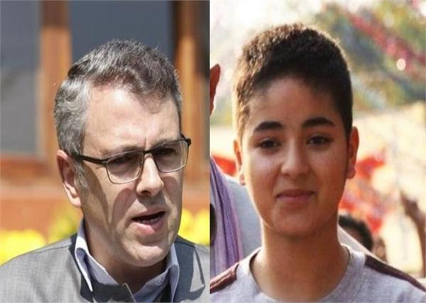 omar abdullah support for zaira wasim decision