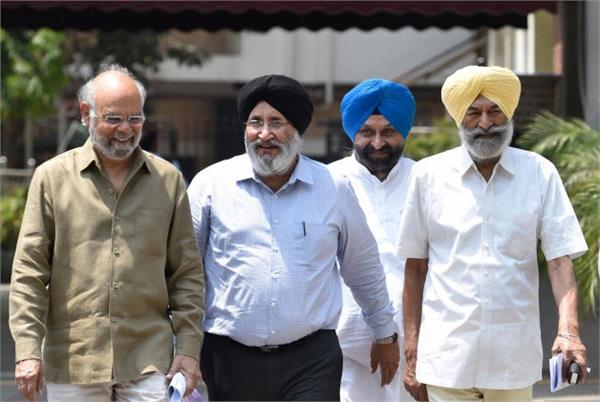 akali dal has again knocked on the door of the election commission