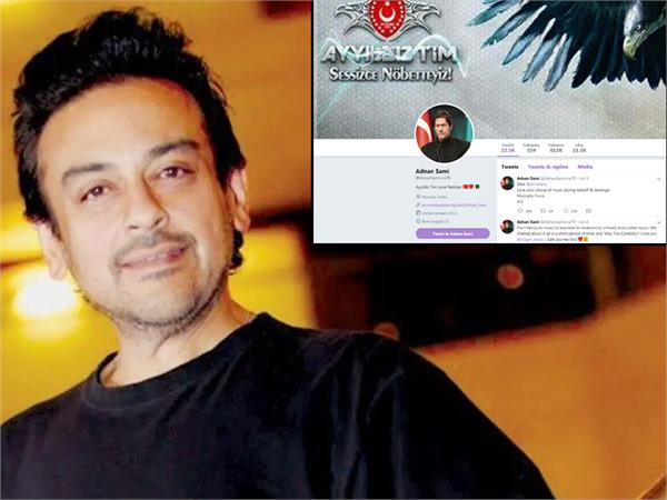 adnan sami twitter account hack