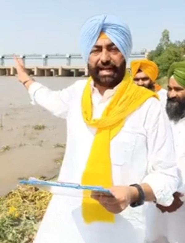 pakistan  river waters  sukhpal singh khaira