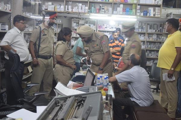 jalandhar dilkushu market police and drugs department