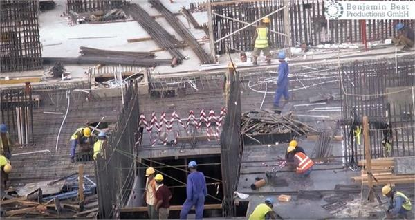 1400 workers died in qatar