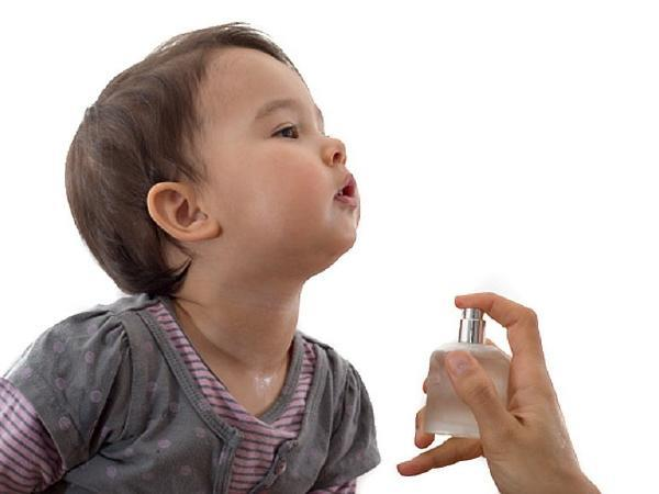 alert   the fragrance of perfumes is harmful for children