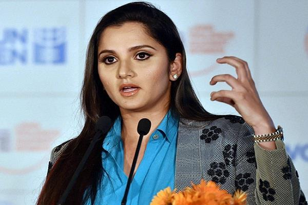 sania lifts   shameful   advertisements before the indo pak world cup match