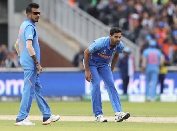 india v india  bhuvneshwar returned to injury when he was injured