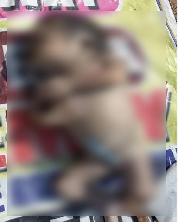 newly born child deadbody found