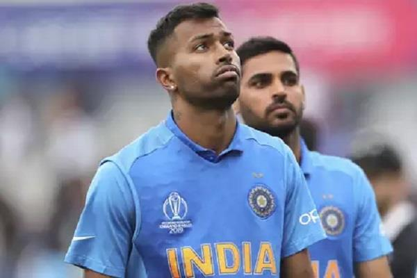 pandya out of windies tour  bumrah will play the same format
