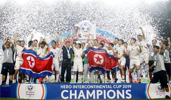 north korea wins intercontinental cup