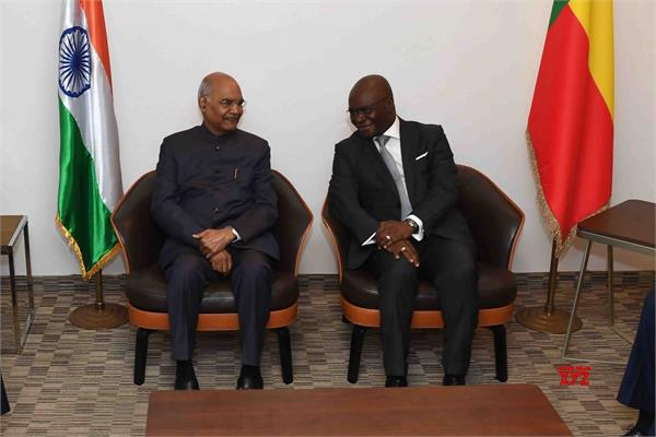 president kovind arrives on african trip to benin  to discuss bilateral issues