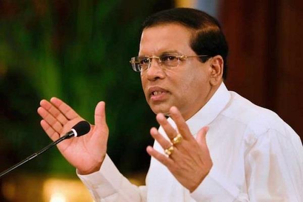 the drug mafia  s hand behind the blasts on easter in sri lanka  president