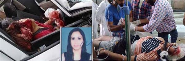 including a lady doctor  were killed in road accidents