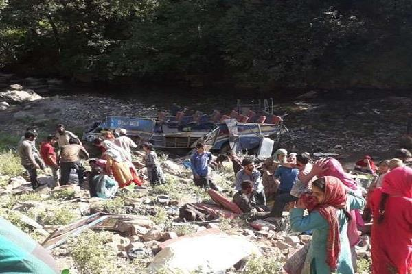 101 deaths in six major road accidents in 11 days  jammu and kashmir