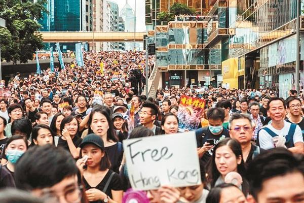 what is the root cause of the hong kong crisis