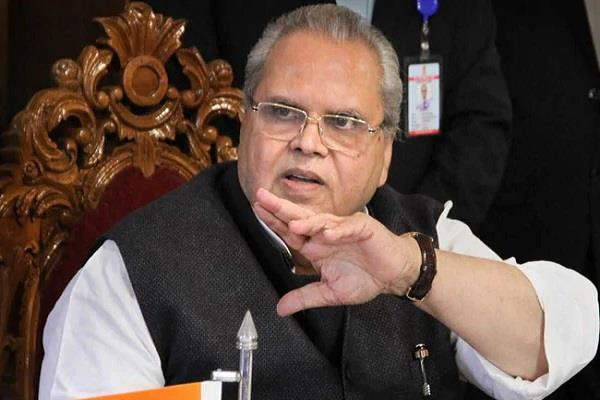 correct statement about governor satyapal malik  s kashmiri pandits