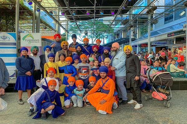 australia  turban awareness camp
