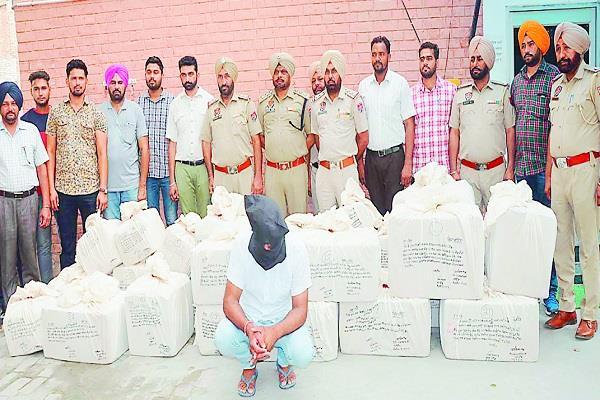 bathinda  drug pills  person arrested