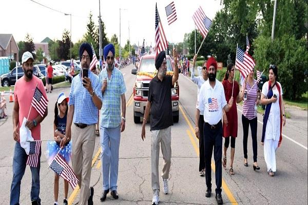 sikhs celebrated independence day dayton