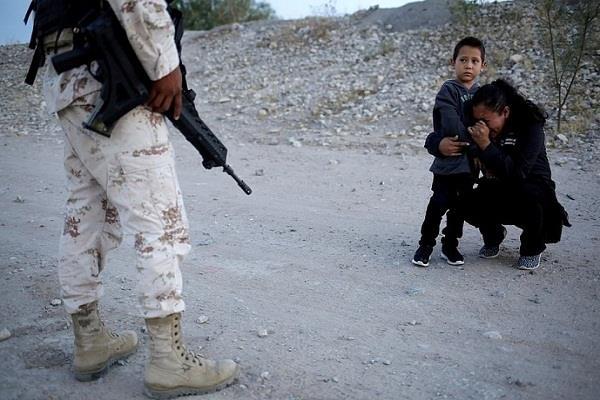 mexico city refugee mom