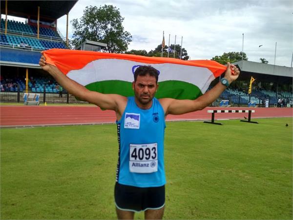 j k policeman wins 2 bronze medals in international athletics championship