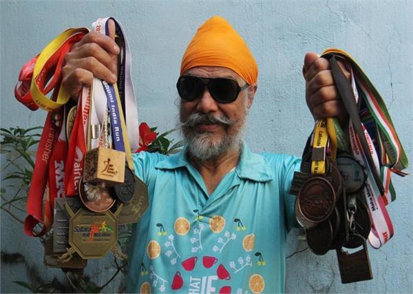 sporty sikh amarjeet singh chawla