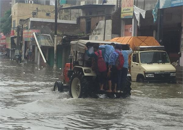 bathinda rain 20 years record