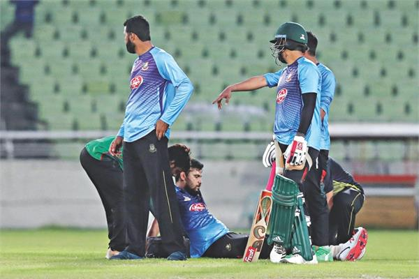 mashrafe mortaza has been ruled out of against sri lanka due to injury