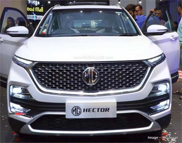 mg hector sold out for 2019  bookings temporarily closed