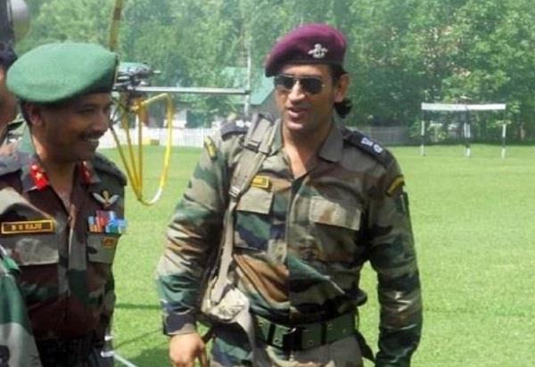 ms dhoni army cricket