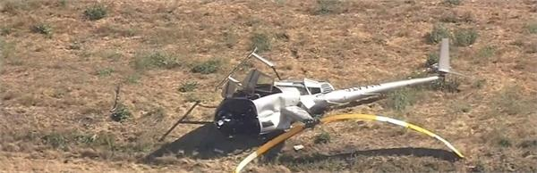 helicopter crash kills flight instructor in northern california